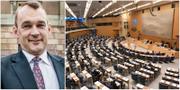 Mikael Sandström / Riksdagens plenisal TT