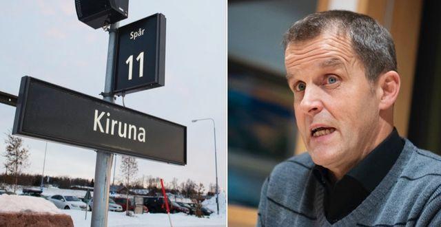 Gunnar Selberg (C), kommunalråd i Kiruna.  TT