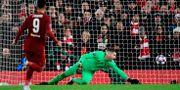 Liverpools målvakt Adrian släpper in det avgörande målet JAVIER SORIANO / TT NYHETSBYRÅN