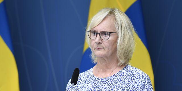 Lena Micko.  Ali Lorestani/TT / TT NYHETSBYRÅN