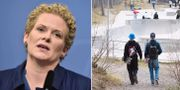 Oppositionsborgarrådet Karin Wanngård.