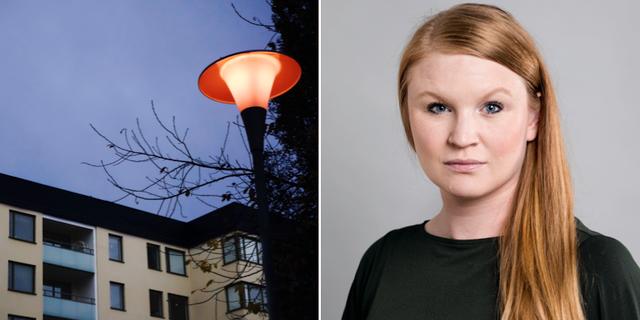 Clara Lindbom (V).  TT / Pressbild Vänsterpartiet