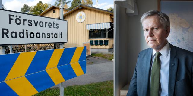 FRA/generaldirektör Björn Lyrvall TT