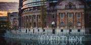 Klottret vid riksdagen. Foto: Jana Eriksson/Greenpeace