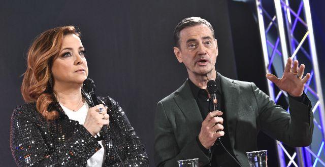 Artisten Shirley Clamp och Christer Björkman Claudio Bresciani/TT / TT NYHETSBYRÅN