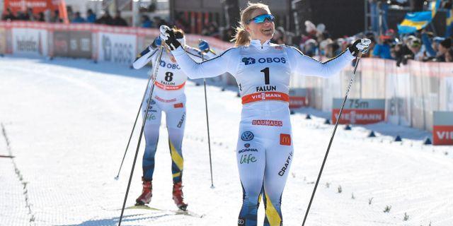 Hanna Falk. TT NEWS AGENCY / TT NYHETSBYRÅN