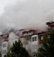 Explosionen inträffade i slutet av september.  BJÖRN LARSSON ROSVALL/TT / TT NYHETSBYRÅN