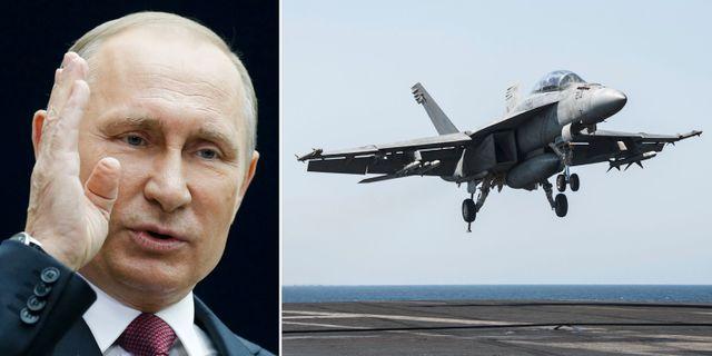 Putin / F/A-18E Super Hornet TT