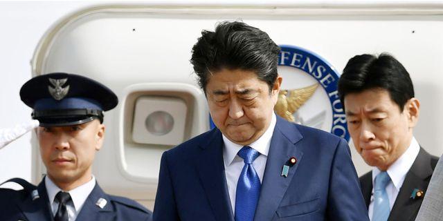 Japans premiarminister beredd att avga