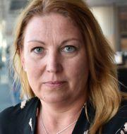 Lärarförbundets Johanna Jaara Åstrand.  Niklas Svahn/TT / TT NYHETSBYRÅN