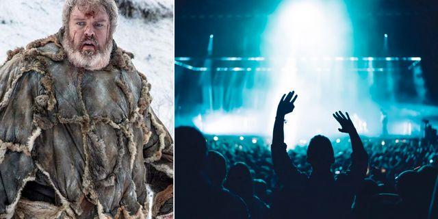 Kristian Nairn, som spelar Hodor i tv-serien, byter miljö och blir dj på Rave of Thrones.  HBO / Pexels