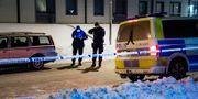 Två män sköts sent på fredagskvällen utomhus i Borlänge i början på januari. Ulf Palm/TT / TT NYHETSBYRÅN