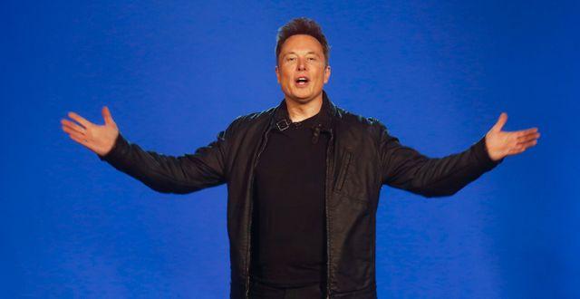 Teslas vd Elon Musk. Ringo H.W. Chiu / TT NYHETSBYRÅN