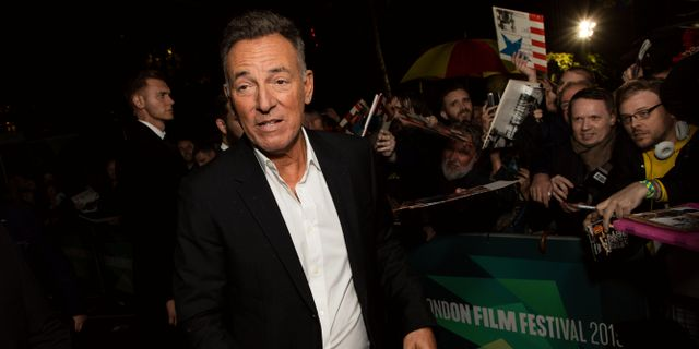 Bruce Springsteen. Vianney Le Caer / TT NYHETSBYRÅN