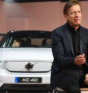 Volvo XC40 är populärast i USA. Volvo Cars vd Håkan Samuelsson. Arkivbild. Michael Owen Baker / TT NYHETSBYRÅN
