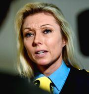 Linda H Staaf, chef för underrättelseenheten på NOA.  Stina Stjernkvist/TT / TT NYHETSBYRÅN
