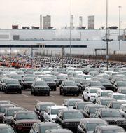 Jeepar utanför Fiat-Chryslers fabrik i Detroit, USA. Carlos Osorio / TT NYHETSBYRÅN/ NTB Scanpix