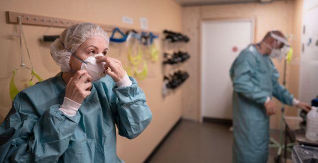 Läkare på Östra sjukhuset i Göteborg.  Björn Larsson Rosvall /TT / TT NYHETSBYRÅN