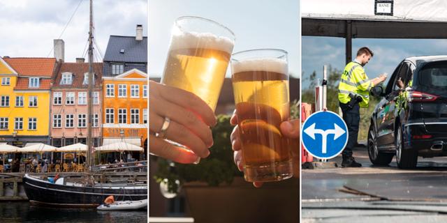 Köpenhamn/Öl/Gräns på Öresundsbron. TT