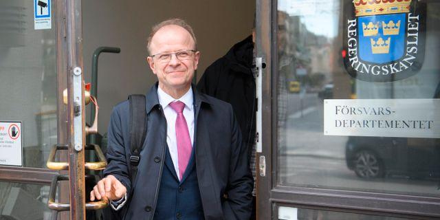 Kristdemokraternas  försvarspolitiske talesperson Mikael Oscarsson.  Henrik Montgomery/TT / TT NYHETSBYRÅN