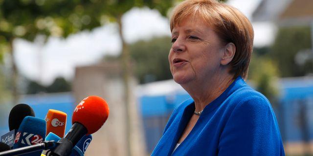 Tysklands förbundskansler Angela Merkel. Francois Mori / TT / NTB Scanpix
