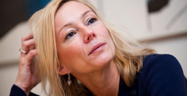 Nationalekonomen och professorn Karolina Ekholm.  Bertil Ericson / TT / TT NYHETSBYRÅN