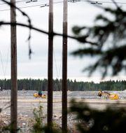Ett av projekten är Northvolts batterfabrik utanför Skellefteå.  Henrik Montgomery/TT / TT NYHETSBYRÅN