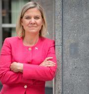 Finansminister Magdalena Andersson (S).  Jessica Gow/TT / TT NYHETSBYRÅN