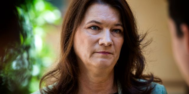 Ann Linde (S). Arkivfoto. Magnus Andersson/TT / TT NYHETSBYRÅN