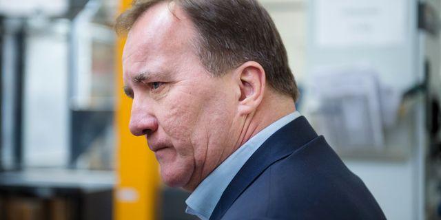 Statsminister Stefan Löfven Izabelle Nordfjell/TT / TT NYHETSBYRÅN