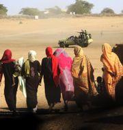Arkivbild från Darfur-regionen.  Abd Raouf / TT / NTB Scanpix