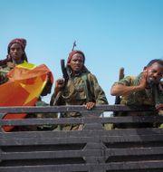 Rebeller i Tigray. TT NYHETSBYRÅN