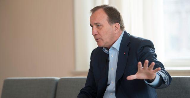 Stefan Löfven. Henrik Montgomery/TT / TT NYHETSBYRÅN