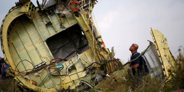 Vrakdelar av nedskjutna MH17 MAXIM ZMEYEV / TT NYHETSBYRÅN