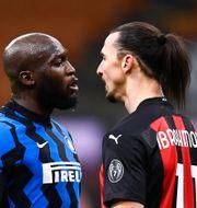 Lukaku och Ibrahimovic NICOLO CAMPO / BILDBYRÅN