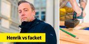 Henrik Gustavssons företag HGS Linköping gick i konkurs efter fackets blockad. Henrik Montgomery/TT / TT NYHETSBYRÅN