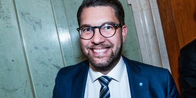Jimmie Åkesson (SD). Arkivbild. Tomas Oneborg/SvD/TT / TT NYHETSBYRÅN