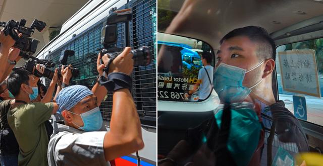 Fotografer utanför domstolen/Tong Ying-kit TT