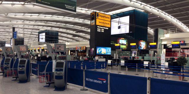 Arkivbild från Heathrow-flygplatsen i London.  Jo Kearney / TT / NTB Scanpix