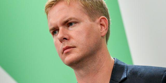 Gustav Fridolin (MP). Janerik Henriksson/TT / TT NYHETSBYRÅN