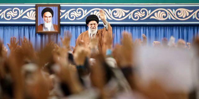 Ali Khomeini. TT NYHETSBYRÅN