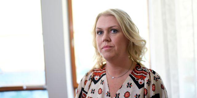 Sjukvårdsministern Lena Hallengren (S). Arkivbild. Pontus Lundahl/TT / TT NYHETSBYRÅN