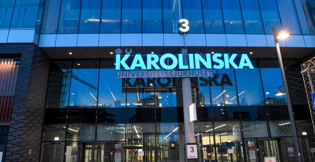 Nya Karolinska i Solna. Fredrik Sandberg/TT / TT NYHETSBYRÅN