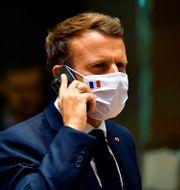 Emmanuel Macron.  John Thys / TT NYHETSBYRÅN