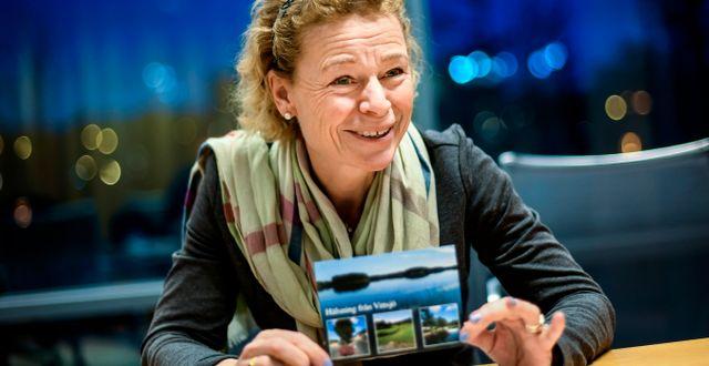Annemarie Gardshol, vd Postnord Sverige. Pontus Lundahl/TT / TT NYHETSBYRÅN