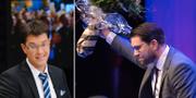 SD-ledaren Jimmie Åkesson 2020 och 2019.  TT