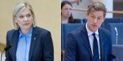 Centerpartiets Emil Källström SVT/TT