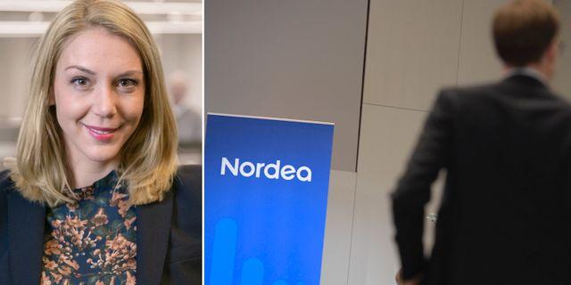 Frida Bratt, sparekonom vid Nordnet.  TT och Nordnet
