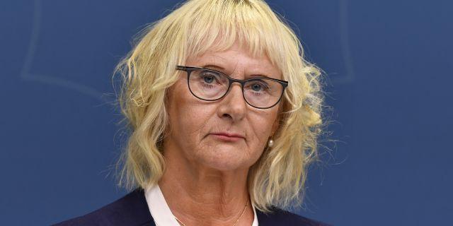 Lena Micko. Henrik Montgomery/TT / TT NYHETSBYRÅN