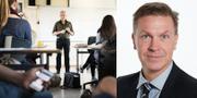 Niclas Lindahl, förhandlingschef på SKL. TT.